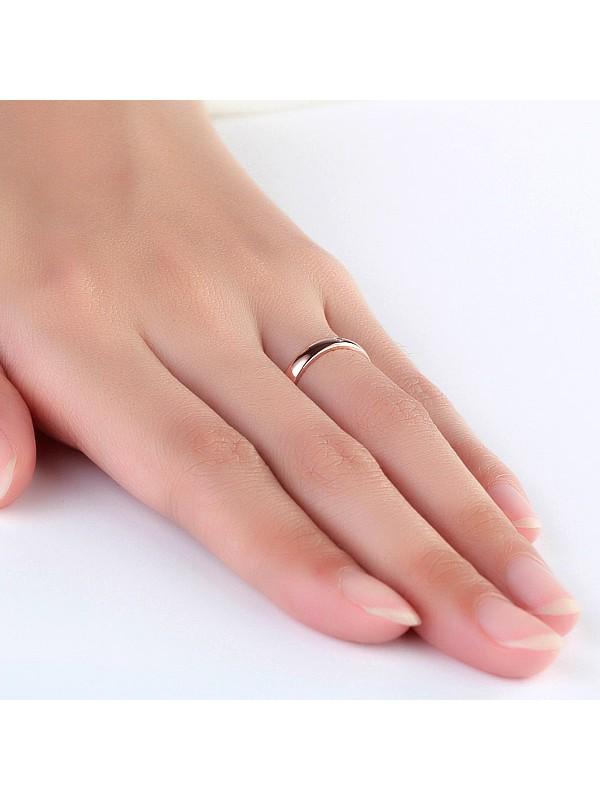 women 14k rose gold bridal wedding band ring 001 ct natural diamonds
