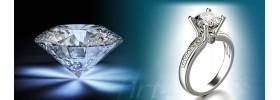 Moissanite Diamond Rings